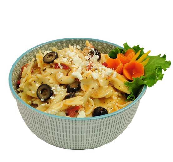 Greek Tomato Basil & Feta Pasta