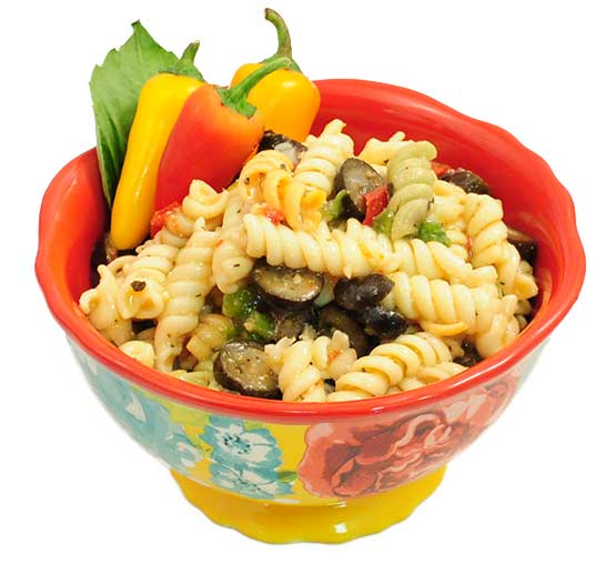 Tri Color Rotini Pasta Salad