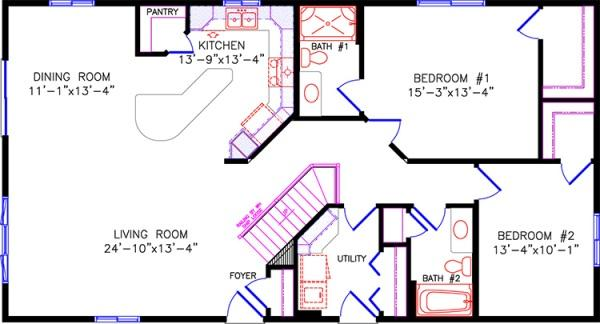 Cottage for 50 x 60 garage plans