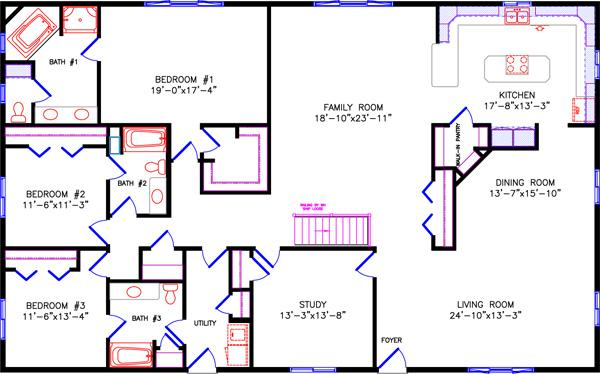 Ranch for Westport homes ranch floor plans