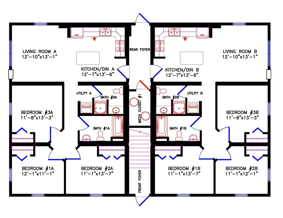 multi family main floor
