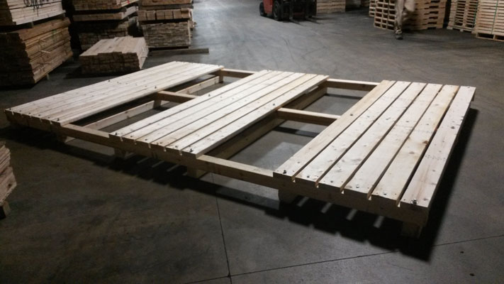4-Way Pallets in Wisconsin
