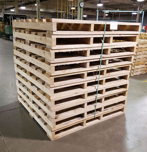 Dry Pallets in Milwaukee, WI