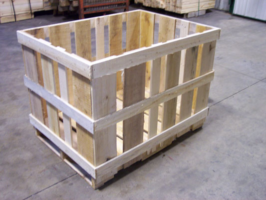 Wooden Shipping Pallets in Wisconsin